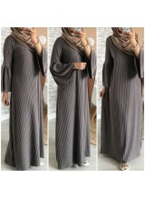 """Robe maille """"Mounia"""" Taupe"""