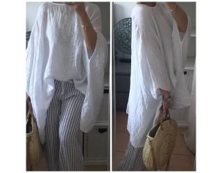 """Pantalon """"Lin"""" Blanc"""