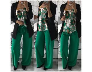 "Pantalon "" Unis"" Vert"