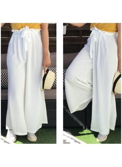 "Pantalon ""Olfa"" Blanc cassé"
