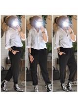"""Pantalon """"Milan"""" Noir"""