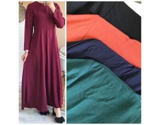 "Robe longue ""Livia"" Rouille"