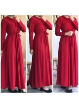 """Robe """"Charme"""" Rouge"""