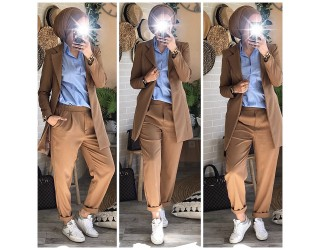 "Pantalon ""Milan"" Camel"