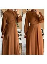 """Robe """"Mina"""" Camel"""
