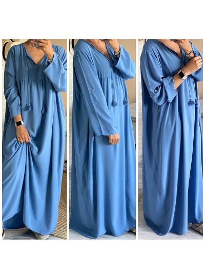 """Robe """"Lucia"""" Bleu"""