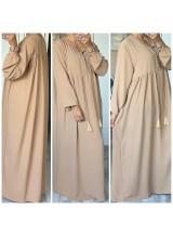 """Robe longue """"Anissa"""" Camel"""
