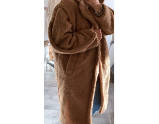 "Manteau ""Teddy"" Camel"