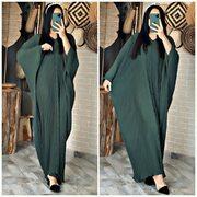 Robe farasha plissée